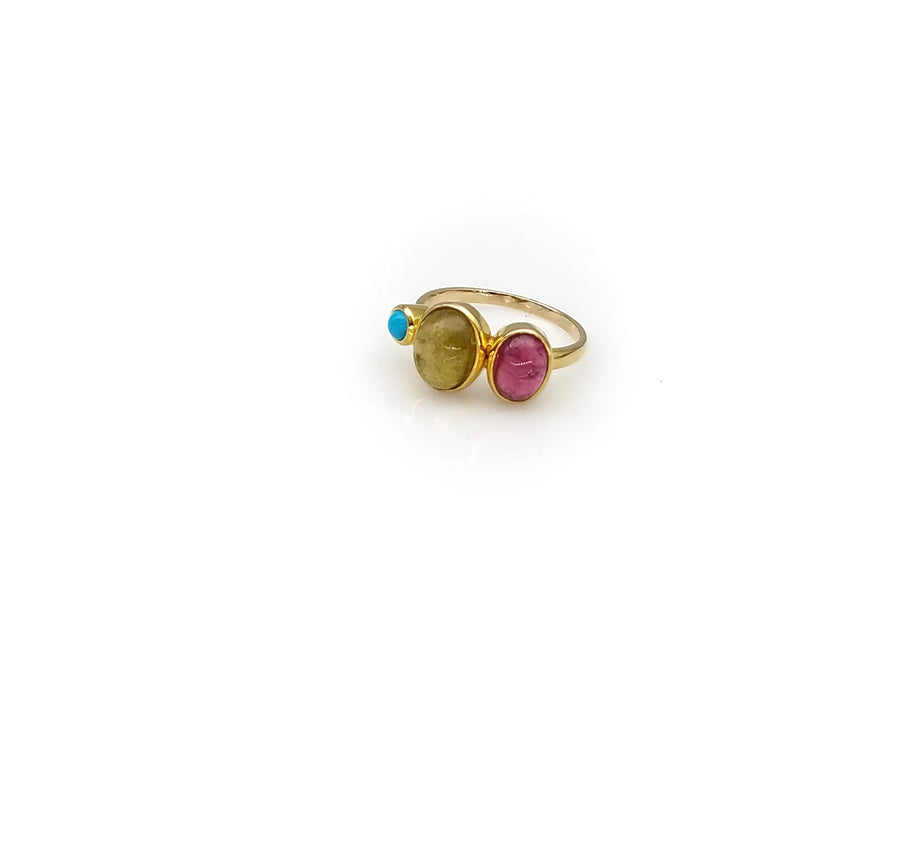 GEMSTONE STACKING RING SONIA TONKIN