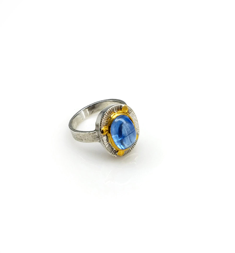 KYANITE GOLD DOTS RING SONIA TONKIN