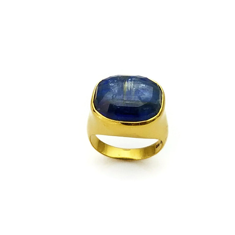 Gold Kyanite Ring