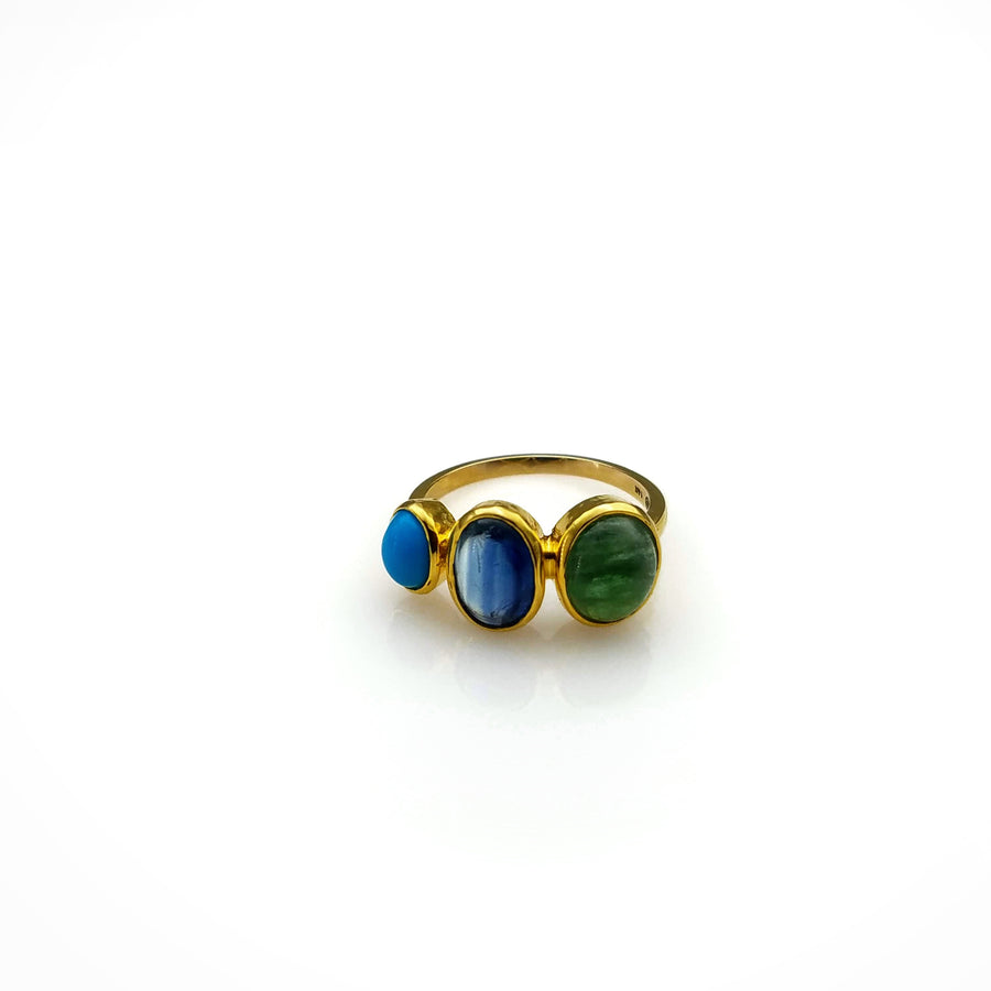 GEMSTONE GOLD RING SONIA TONKIN