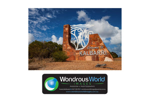 Greetings from Kalbarri - Folded Greeting Card 5x7 - Design 3