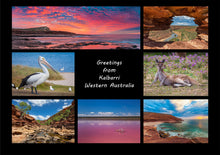 Load image into Gallery viewer, Greetings from Kalbarri - Folded Greeting Card 5x7 - Design 2