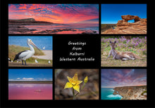 Load image into Gallery viewer, Greetings from Kalbarri - Folded Greeting Card 5x7 - Design 3