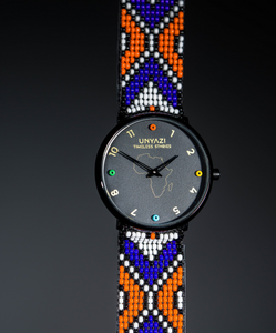 Beautiful watch design from Africa