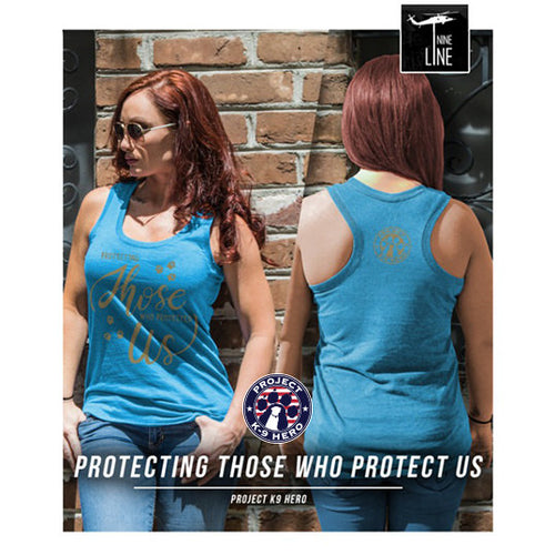 $30 Donation - Project K-9 Hero Women's Tank by Nine Line