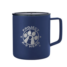 Load image into Gallery viewer, $25 Donation - Project K-9 Hero 14oz Camp Mug