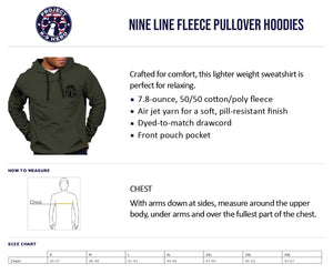 $50 Donation - Project K-9 Hero MWD Hoodie by Nine Line