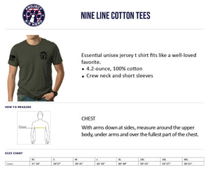 $35 Donation - Project K-9 Hero MWD Unisex T-Shirt by Nine Line