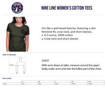 Load image into Gallery viewer, $35 Donation - Project K-9 Hero Axel Women's T-Shirt by Nine Line