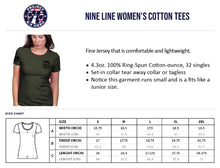 Load image into Gallery viewer, $35 Donation - Project K-9 Hero MWD Women's T-Shirt by Nine Line