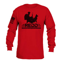 Load image into Gallery viewer, $40 Donation - REDD Logo Long Sleeve T-Shirt
