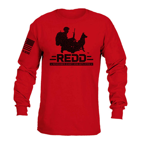 $40 Donation - REDD Logo Long Sleeve T-Shirt