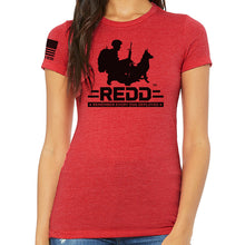 Load image into Gallery viewer, $35 Donation - REDD Women's Logo T-Shirt