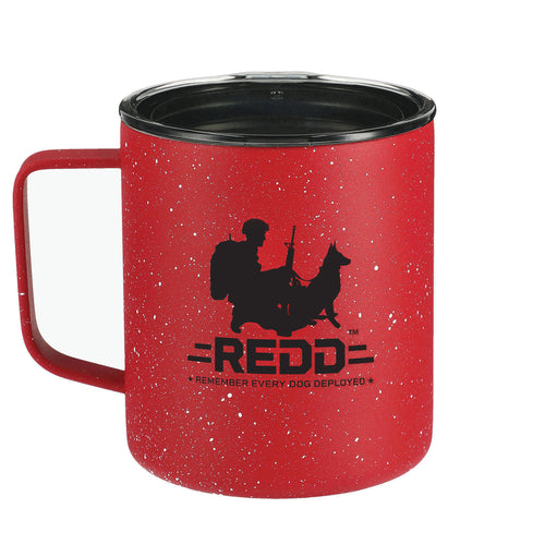 $25 Donation - REDD 14oz Speckled Camp Mug