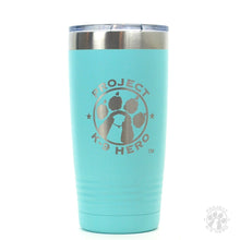 Load image into Gallery viewer, $30 Donation - Project K-9 Hero 20oz Travel Tumbler