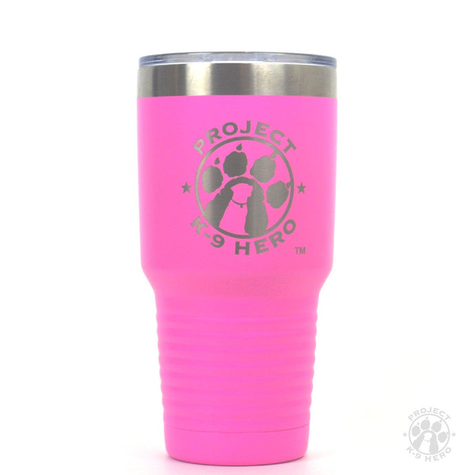 $38 Donation - Project K-9 Hero 30oz Travel Tumbler