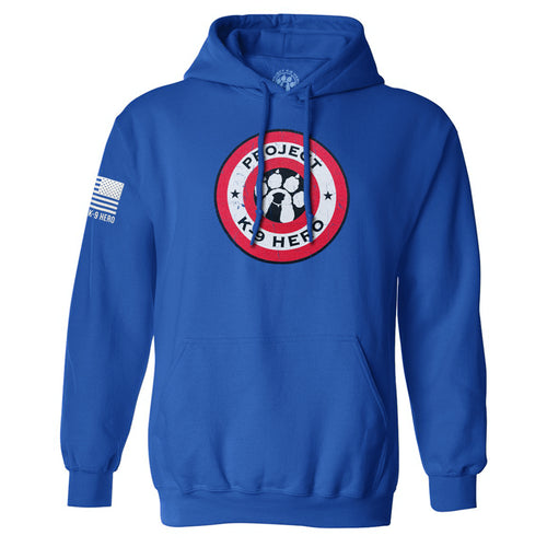 $50 Donation - Project K-9 Hero Shield Hoodie