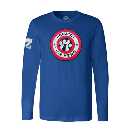 $40 Donation - Project K-9 Hero Shield Long Sleeve