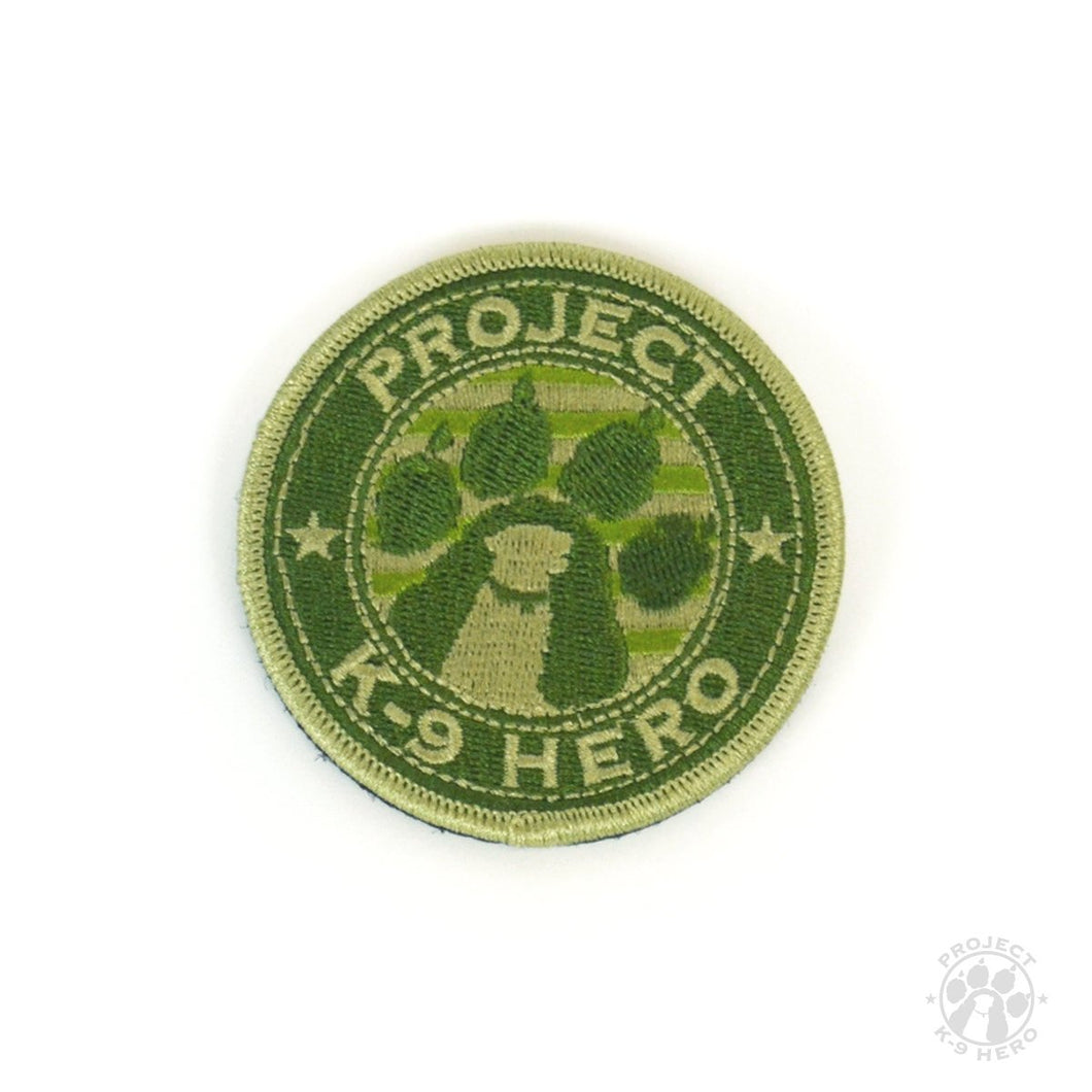$15 Donation - Project K-9 Hero Tactical Patch