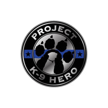 Load image into Gallery viewer, $15 Donation - Project K-9 Hero x Thin Blue Line USA Challenge Coin