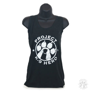 $30 Donation - Project K-9 Hero Women's Logo Tank