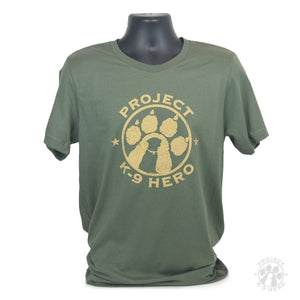 $35 Donation - Project K-9 Hero Logo T-Shirt