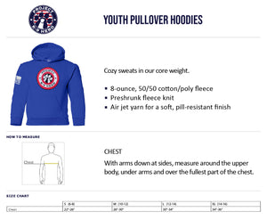 $40 Donation - Project K-9 Hero Shield Youth Hoodie