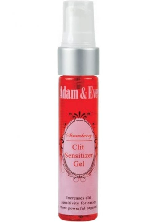 Adam and Eve Strawberry Clit Sensitizer