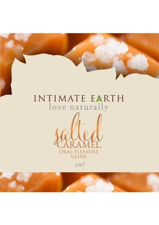 Intimate Earth Oral Pleasure Glide Salted Caramel