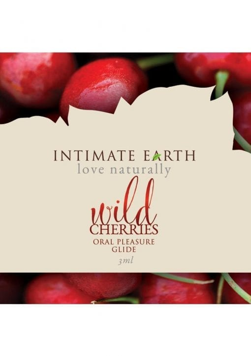 Intimate Earth Oral Pleasure Glide Wild Cherries