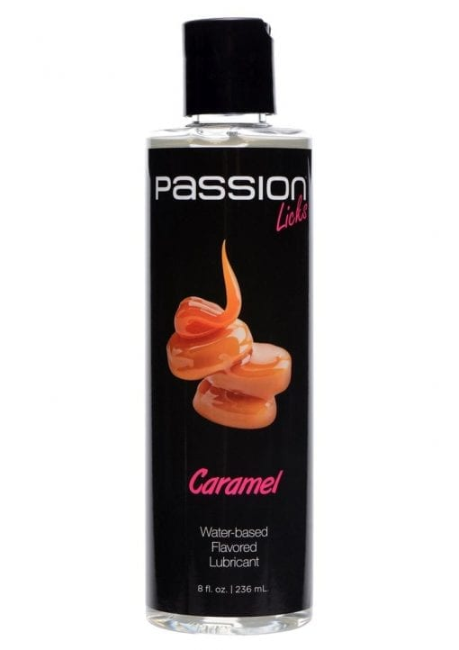 Passion Licks Water Based Flavored Lubricant Caramel