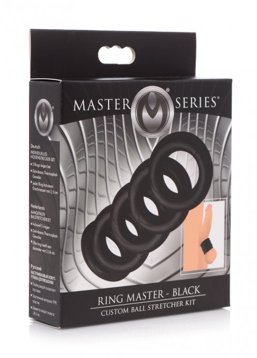 luving-my-fashions,Ring Master Custom Ball Stretcher Kit - Black