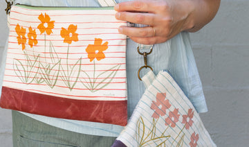 New Summery Print for our Crossbody Bag