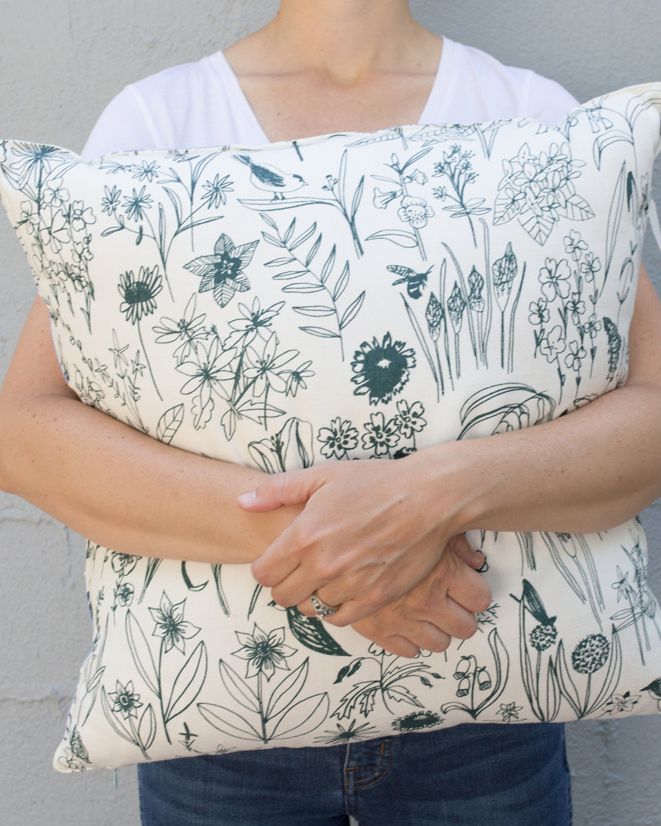 On the search for ethically-made pillow inserts