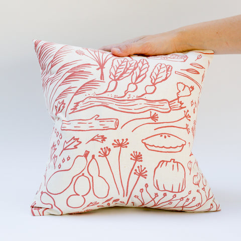 Sample throw pillow discounted rate