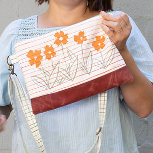Meg Crossbody in Coreopsis Terracotta