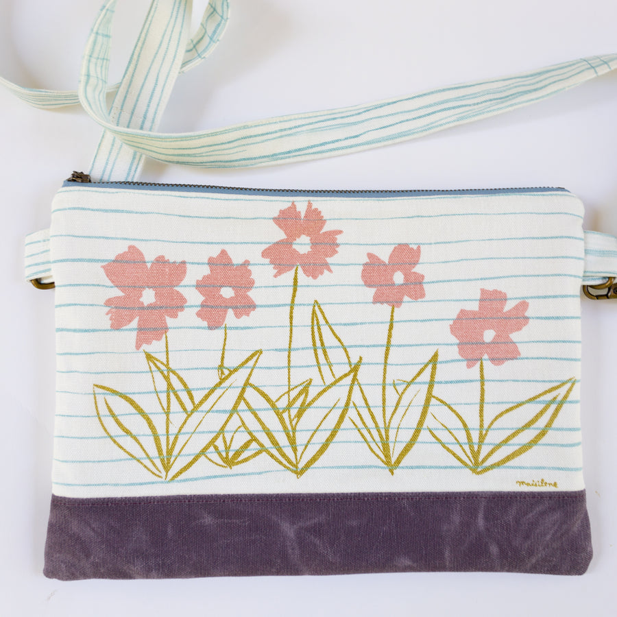 Meg Crossbody in Coreopsis Mallow