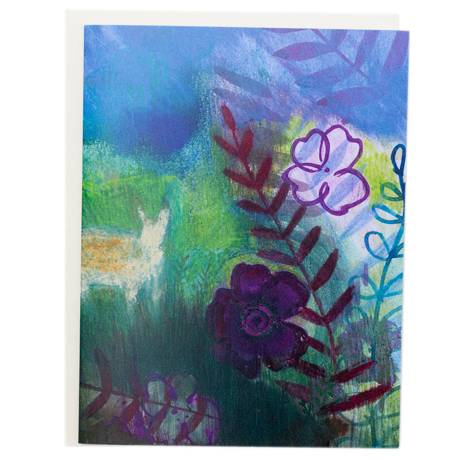 Greeting Card - Deer