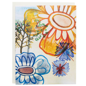 Greeting Card - Forest Flower
