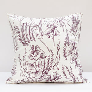 Pillow Cover: Ginkgo