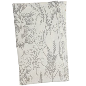 Tea Towel: Ginkgo on linen