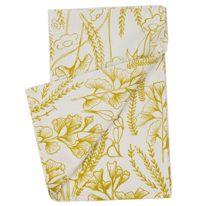 Tea Towel: Ginkgo in Yarrow