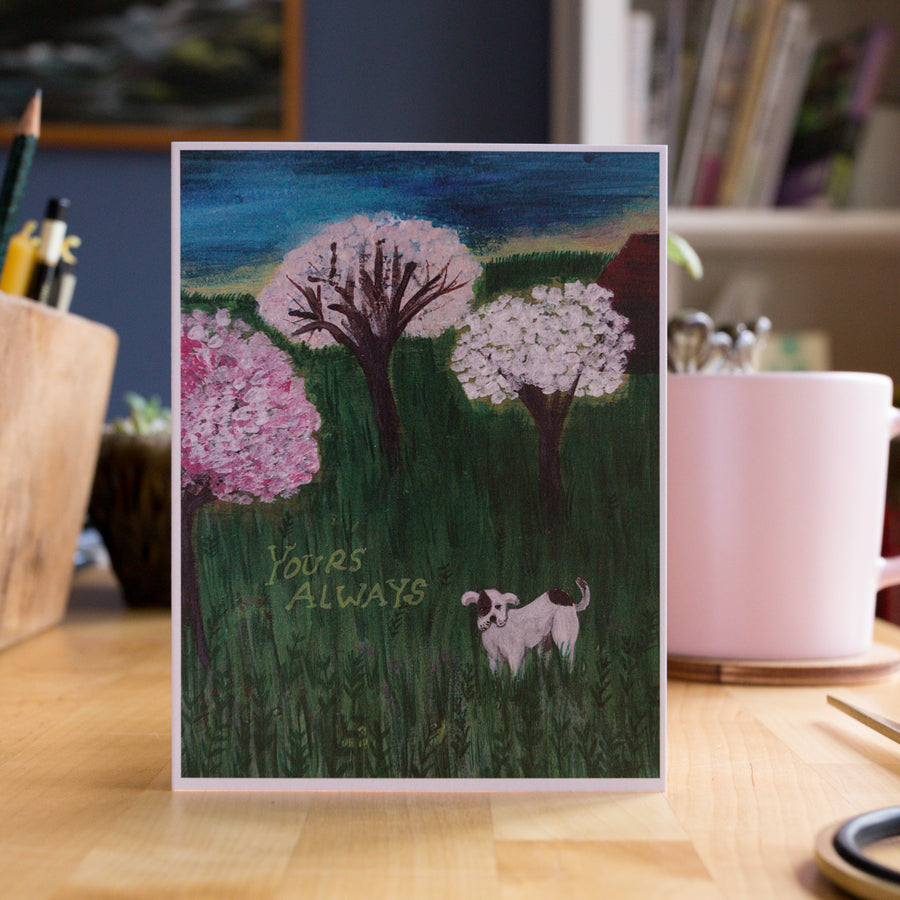 Greeting Card - Yours Always