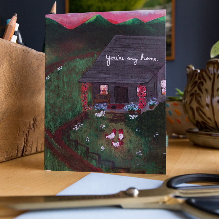 Greeting Cards - You're My Home
