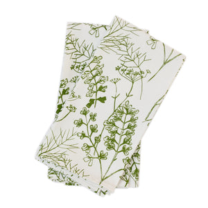 Napkin Set: Parsley in Frond