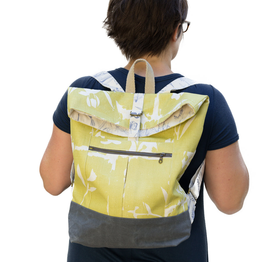 Range Backpack: Matilda in Limoncello