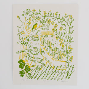 Screen Print - September