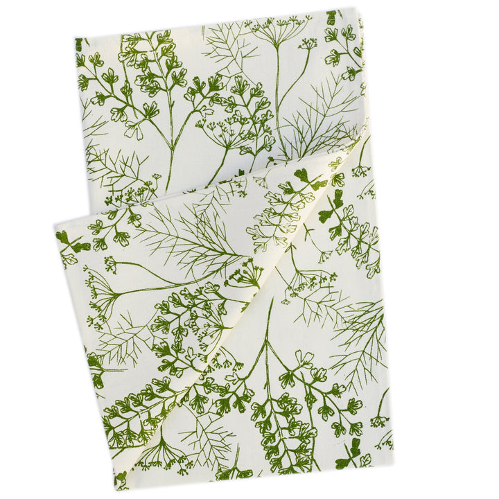 Tea Towel: Parsley in Frond