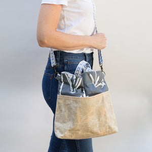 Lizzie Satchel in Charcoal
