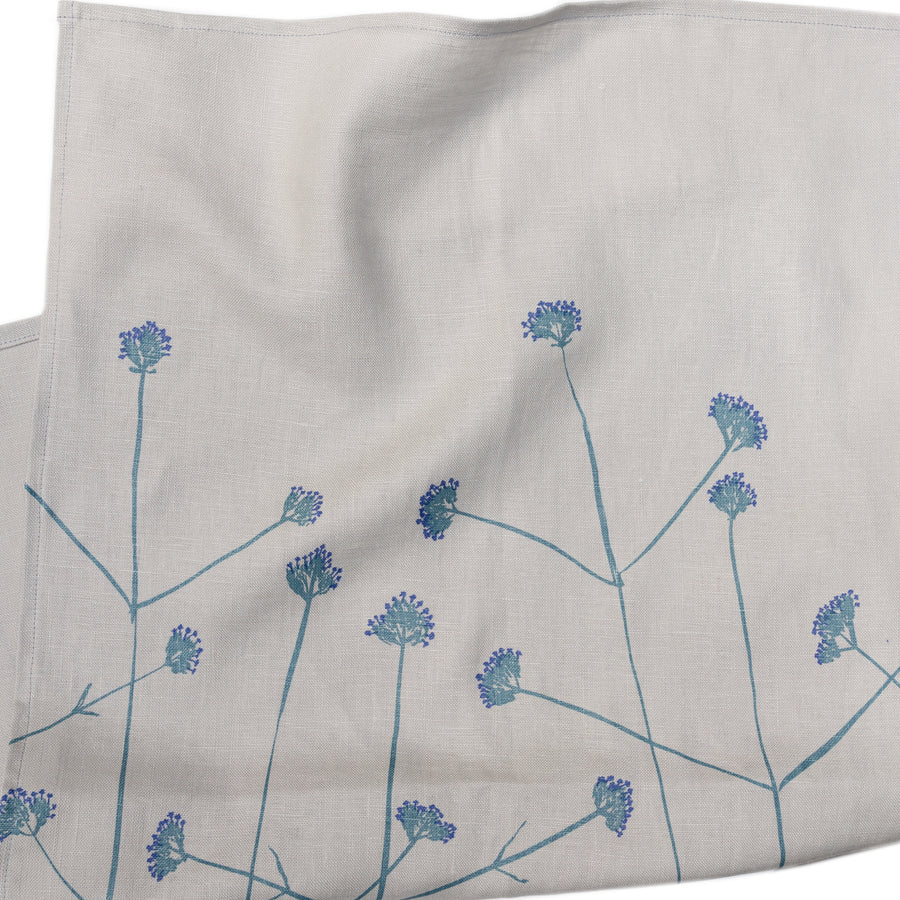 Tea Towel: Verbena in Mineral